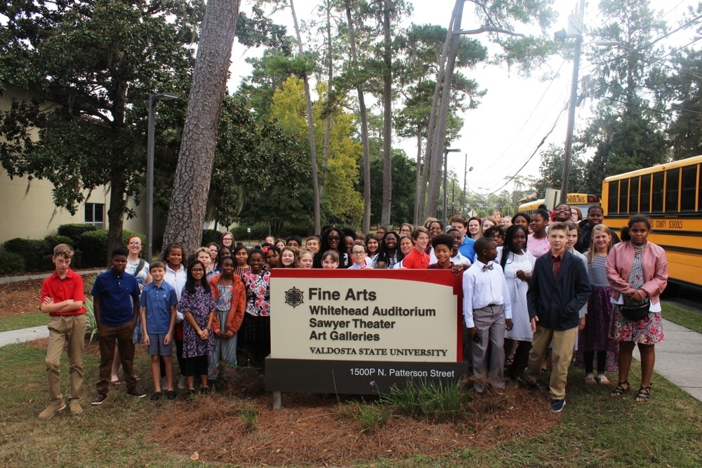 Thomasville City Schools Orchestra Attends VSU Educational Concert
