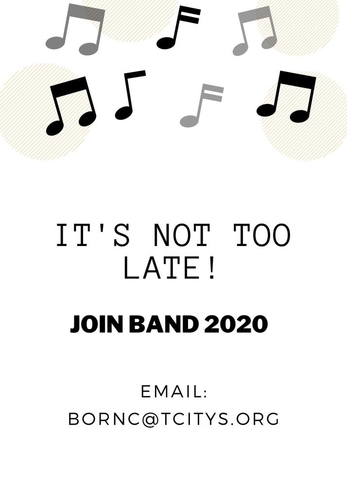 JOIN THE MPMS BAND!