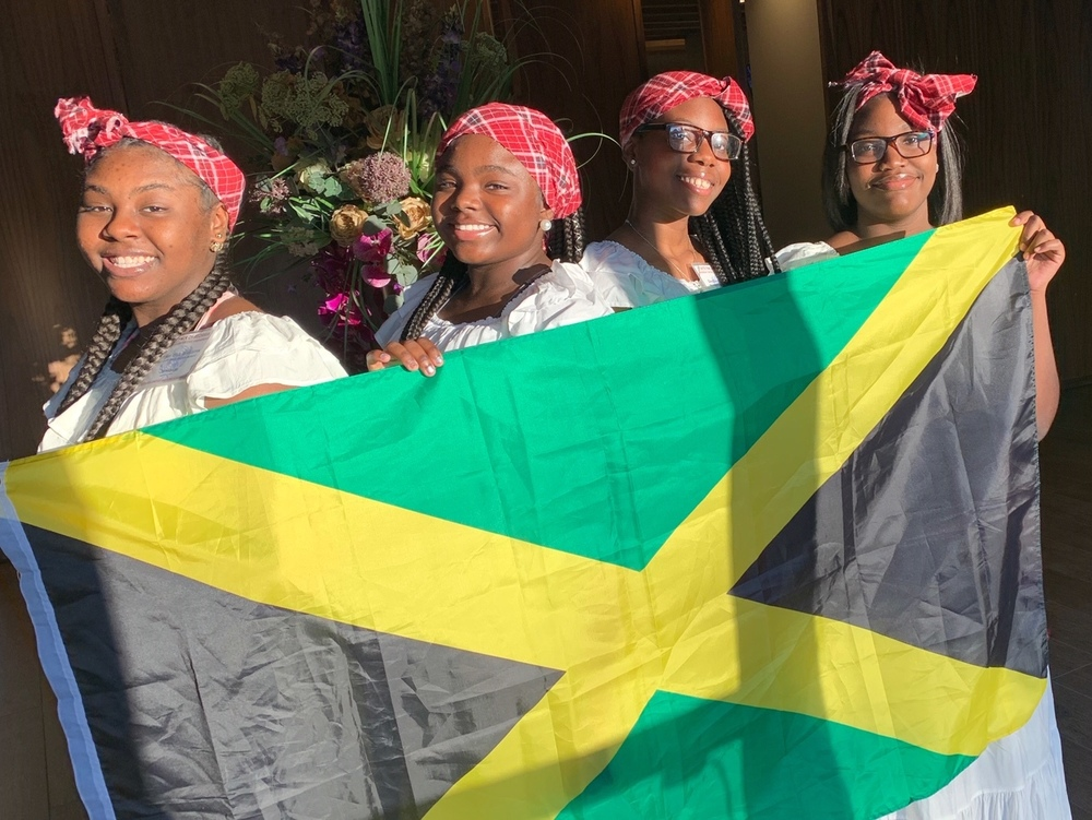 MPMS Students represent Jamaica at Georgia United Nations Assembly