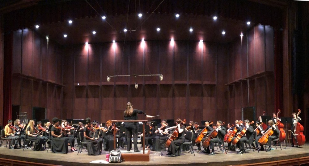 City Schools Orchestras Perform at Ruby Diamond