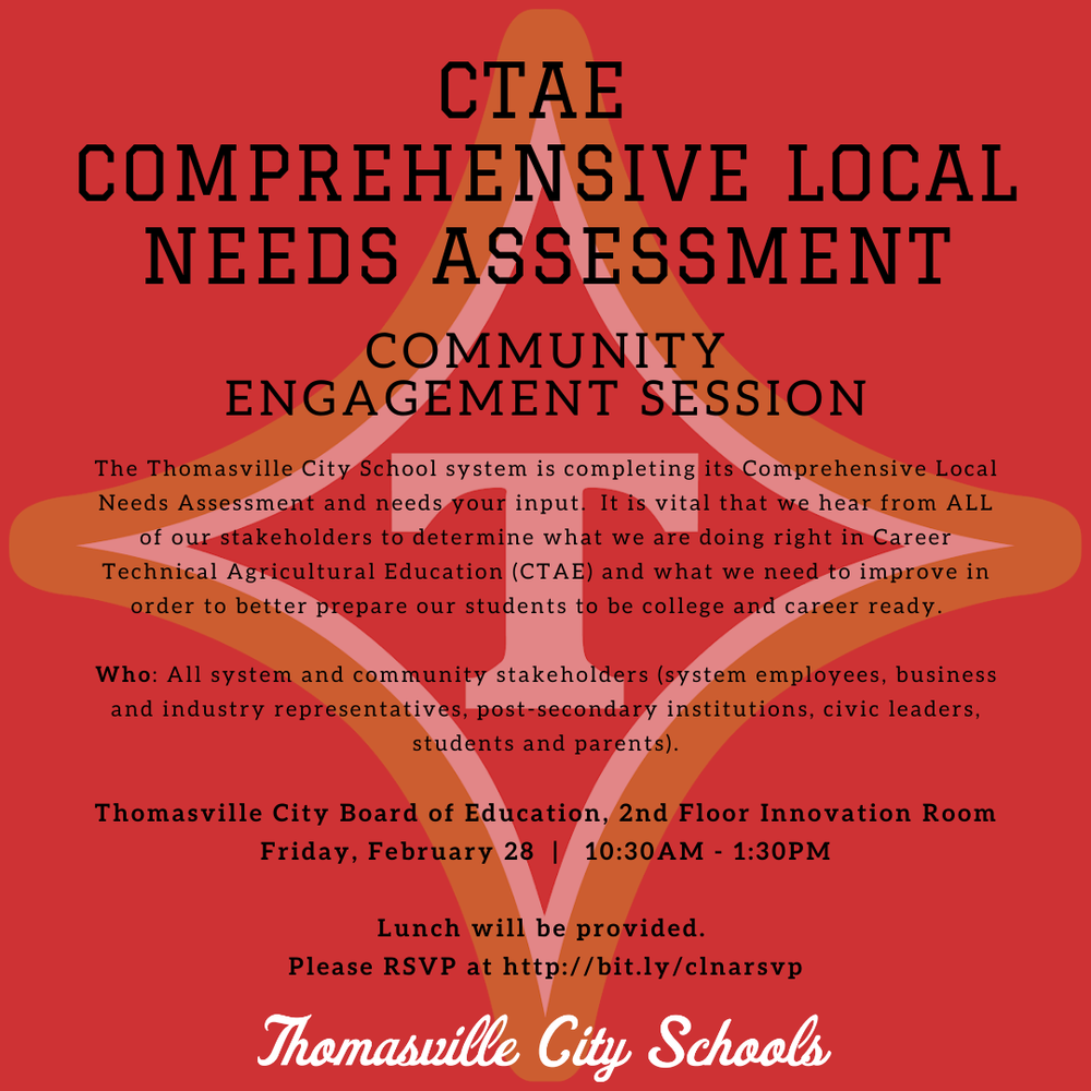 Comprehensive Local Needs Assessment Community Engagement Session