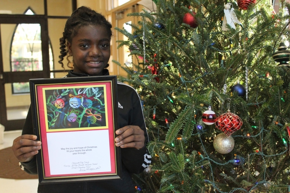 District Christmas Card Artwork Winner