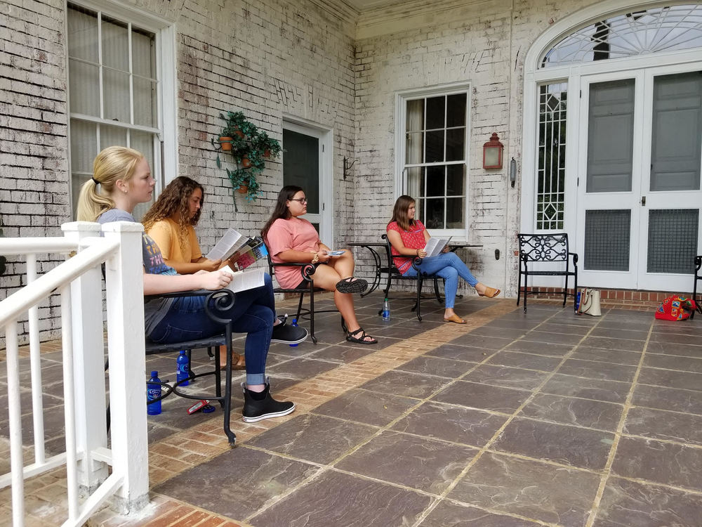 Interact Club Holds Meeting at Pebble Hill