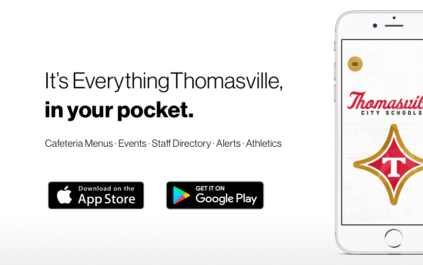 It's Everything Thomasville, in your pocket.