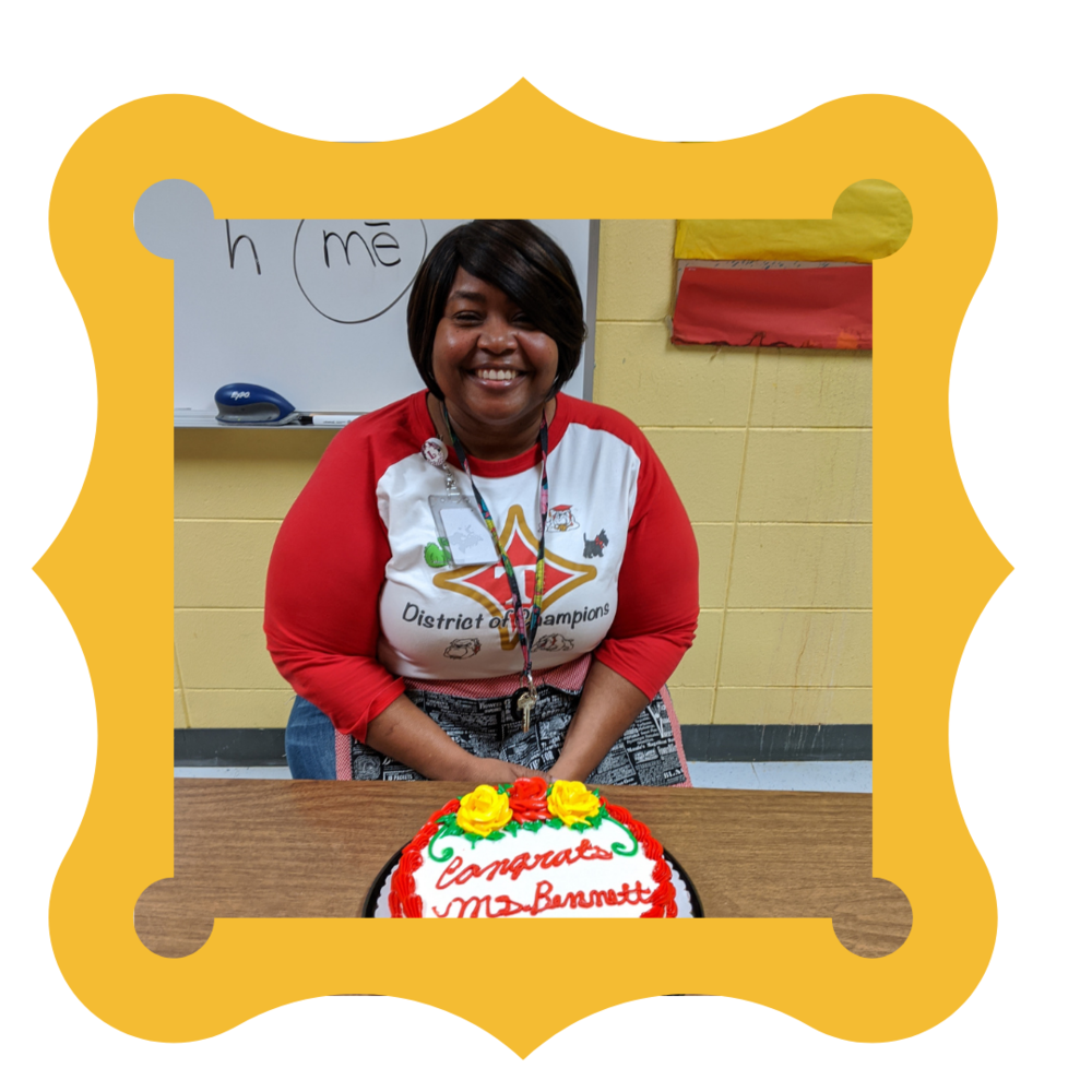 Teacher of the Year--Mrs. Latanya Bennett