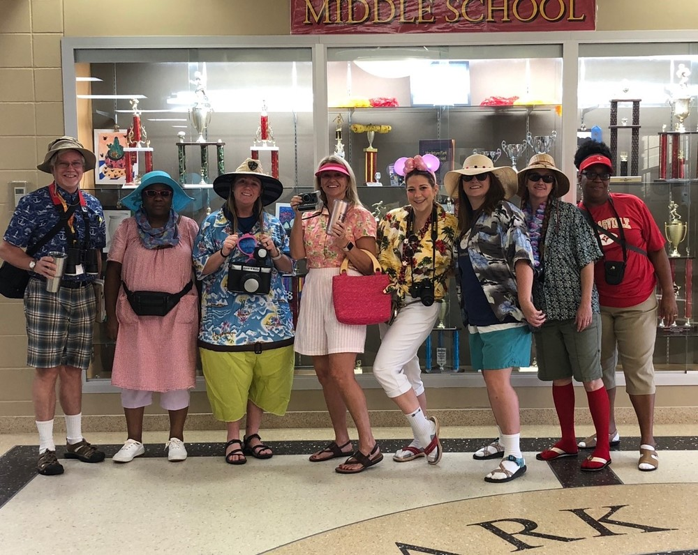 Spirit Week - Tacky Teacher Tourists
