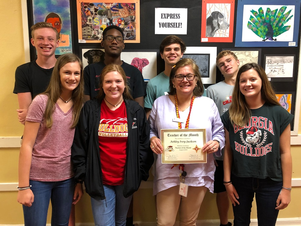 August Teacher & Students of the Month