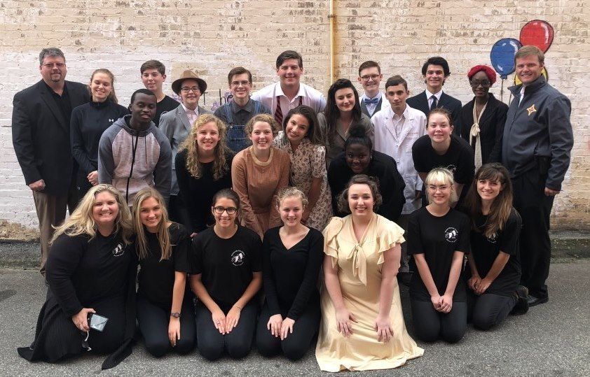 TCS Drama Program Wins Region 1-AA One Act Competition
