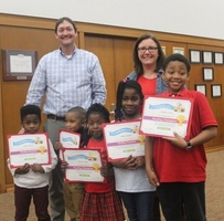 Scott Students Take on Winter Break Reading Challenge