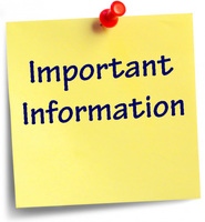 Important Information Regarding Distance Learning