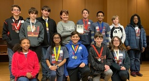 MIddle School Science Olympiad Competes at Region