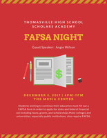 FAFSA Night at THS