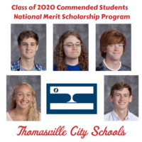 Five Named 'Commended Students'