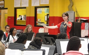 THS Band Director: 'This is my dream job!'