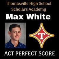 Max White Achieves Perfect ACT Score 5/22/2019