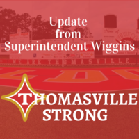 Update from Superintendent Wiggins