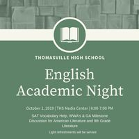 English Academic Night