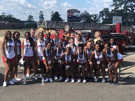 THS Cheerleaders Honor Rescue Workers