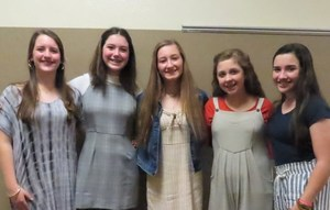 Middle School Holds Beta Club Induction