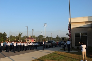 THS AFJROTC Never Forgets