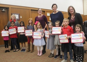 Elementary Students Take on Reading Challenge