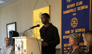 Rotary Club Names Jamie Williams THS Technology Student of the Month