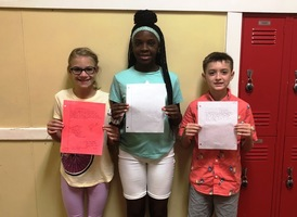 English Students Pen Letters of Encouragement