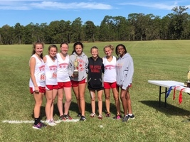 Girls Cross Country 1-AA Region Runner-up