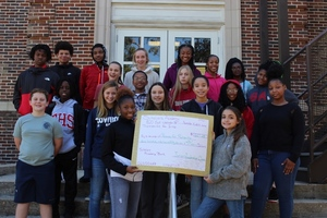 Pennies for Patients Presents Total Funds