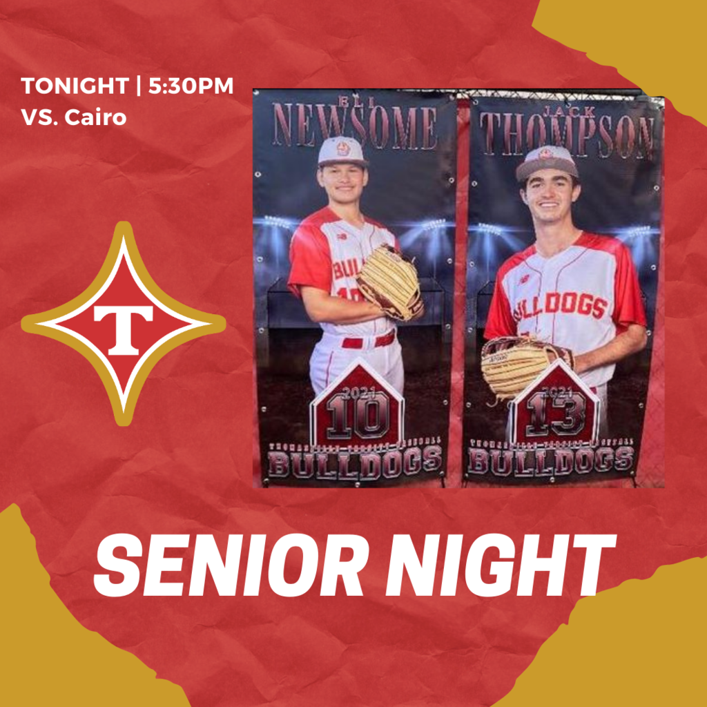 senior night baseball