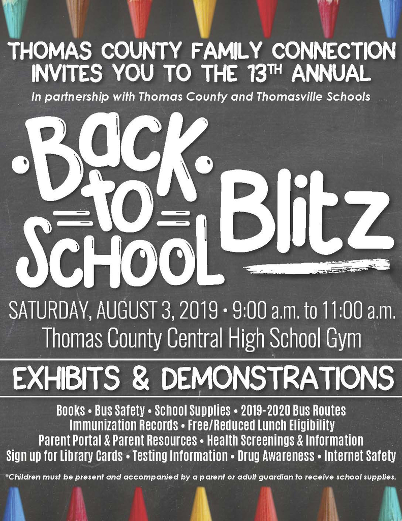 Back to School Blitz