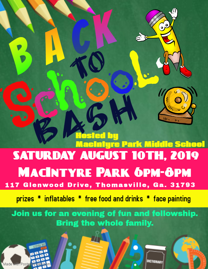 MS Back to School Bash