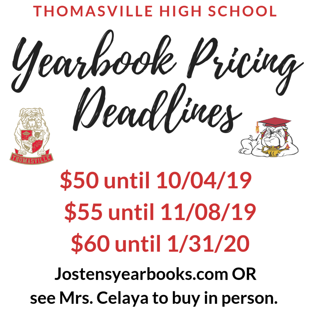 yearbook dates