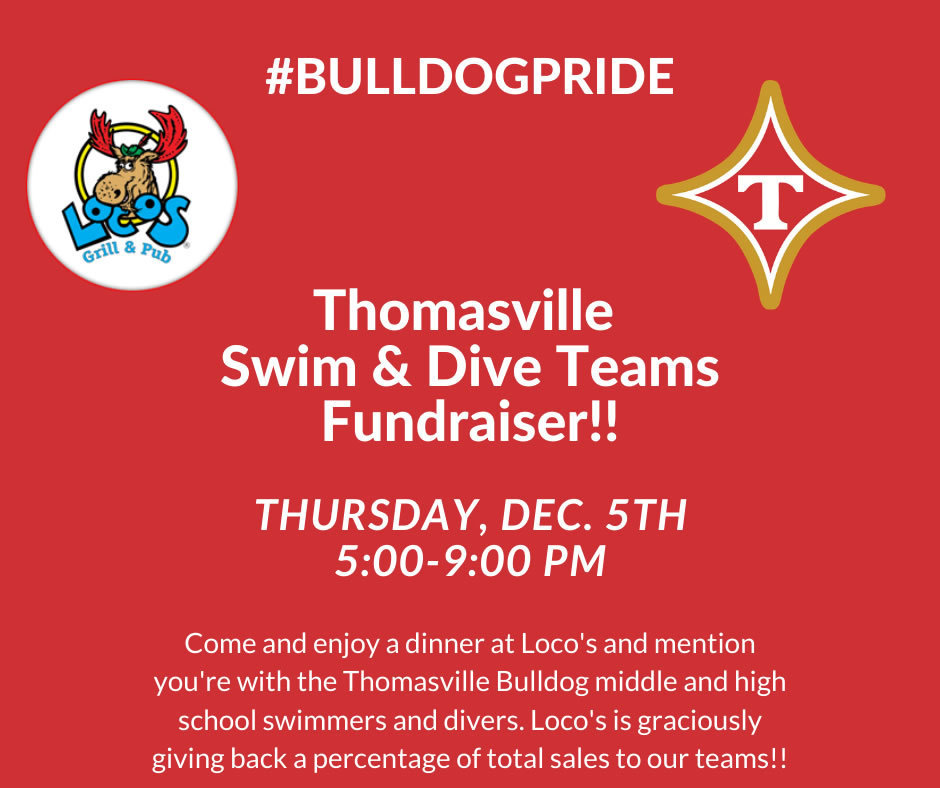 Swim and Dive Teams Fundraiser