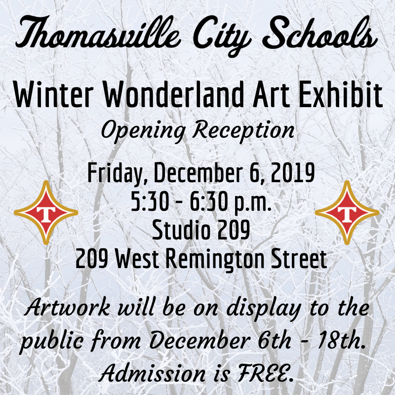 Winter Wonderland Art Exhibit