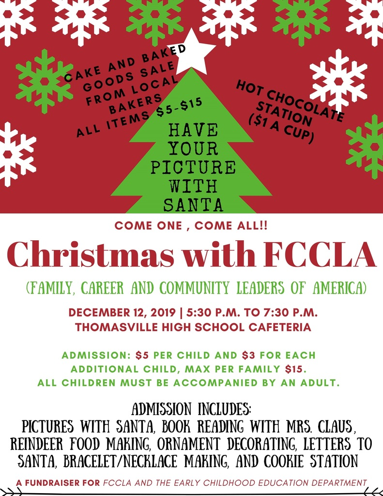 Christmas with FCCLA