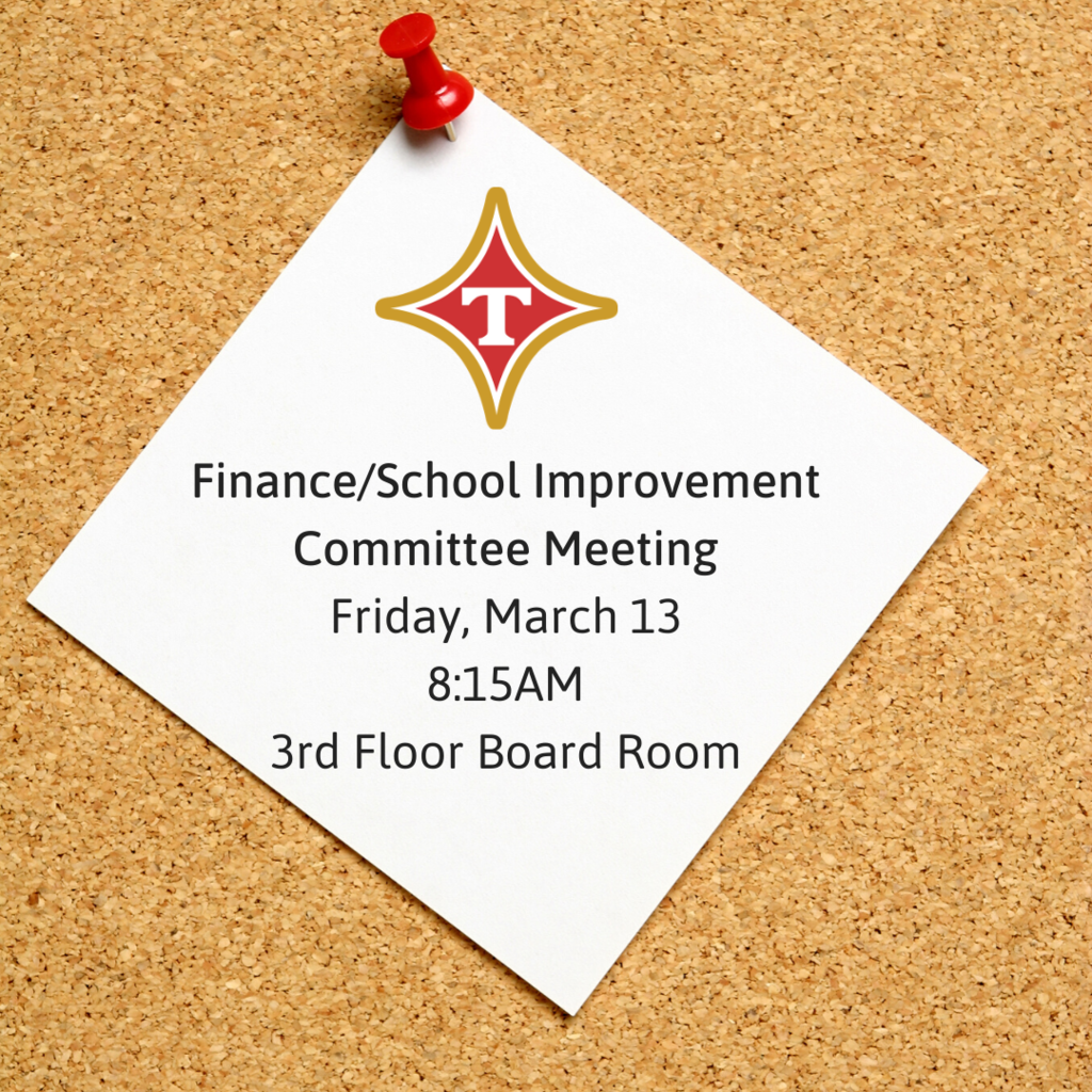 Finance/School Improvement Committee Meeting