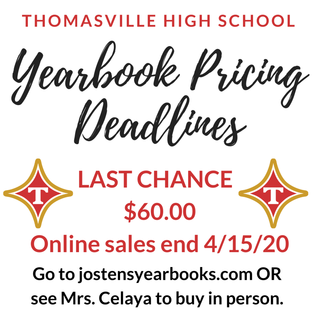 yearbook last chance