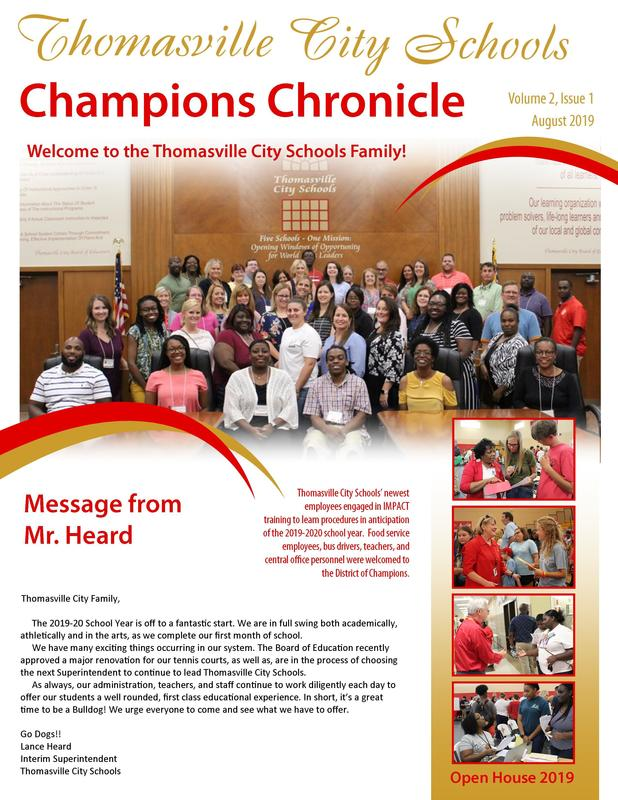 Champions Chronicle August 2019